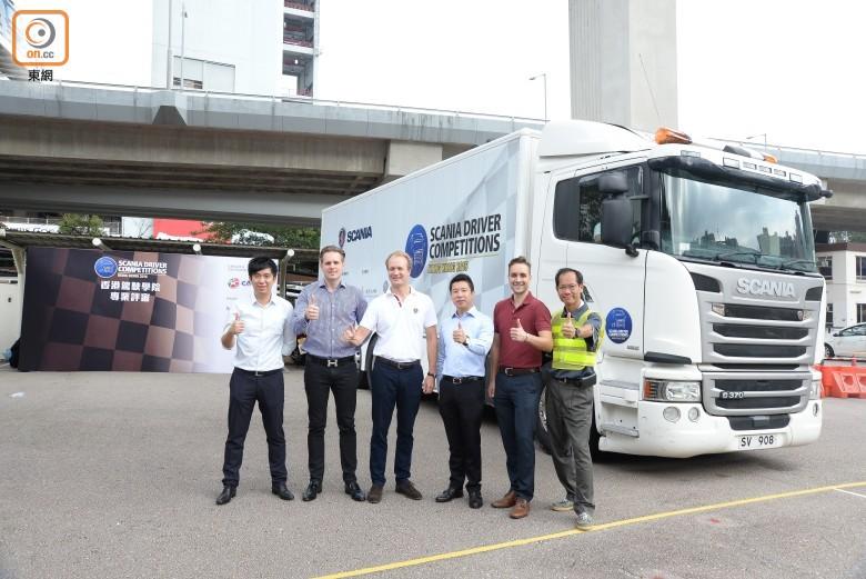 Scania、香港駕駛學院 以比賽提升駕駛安全